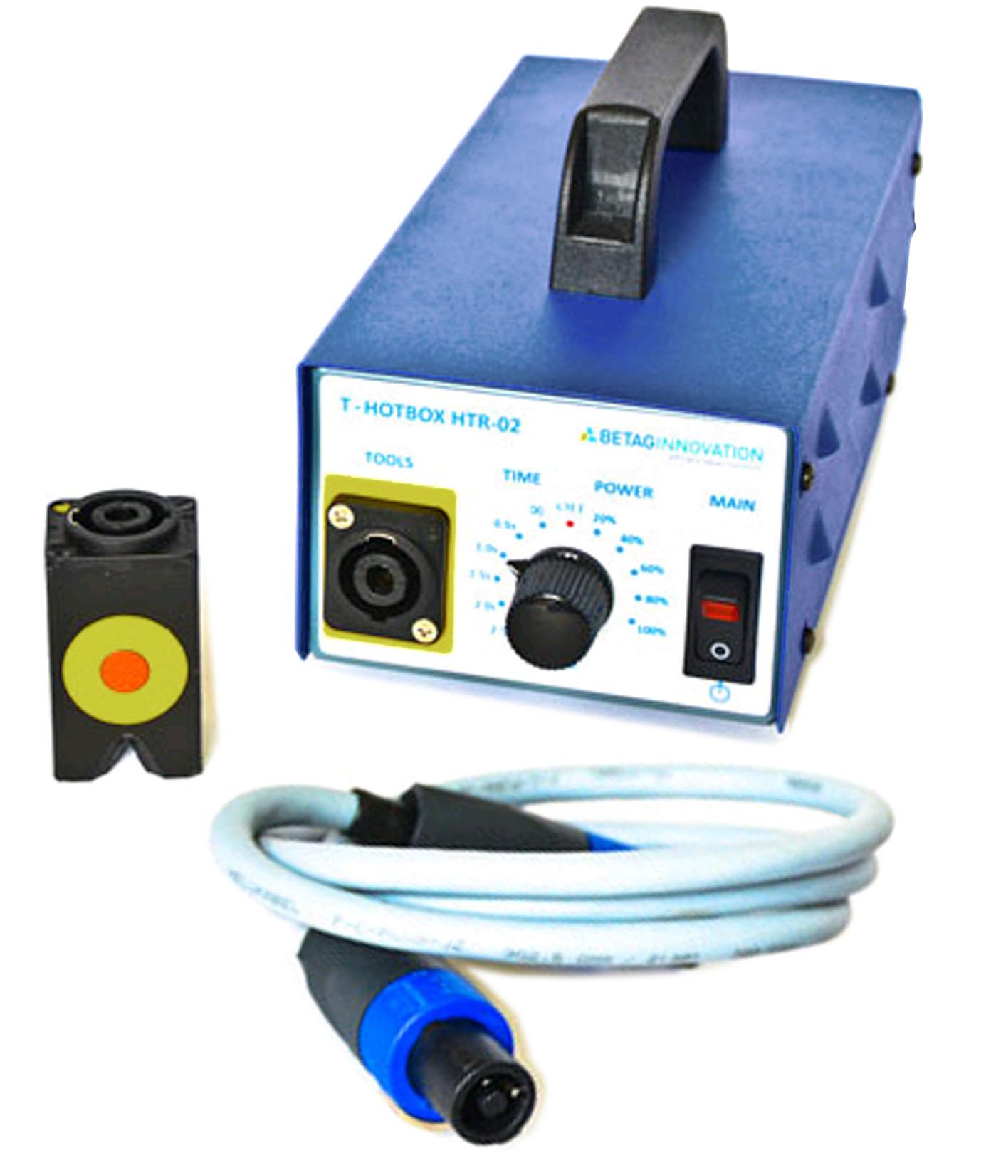 Inductor magnético TSD T-HOT BOX para calentar la chapa de la carrocería