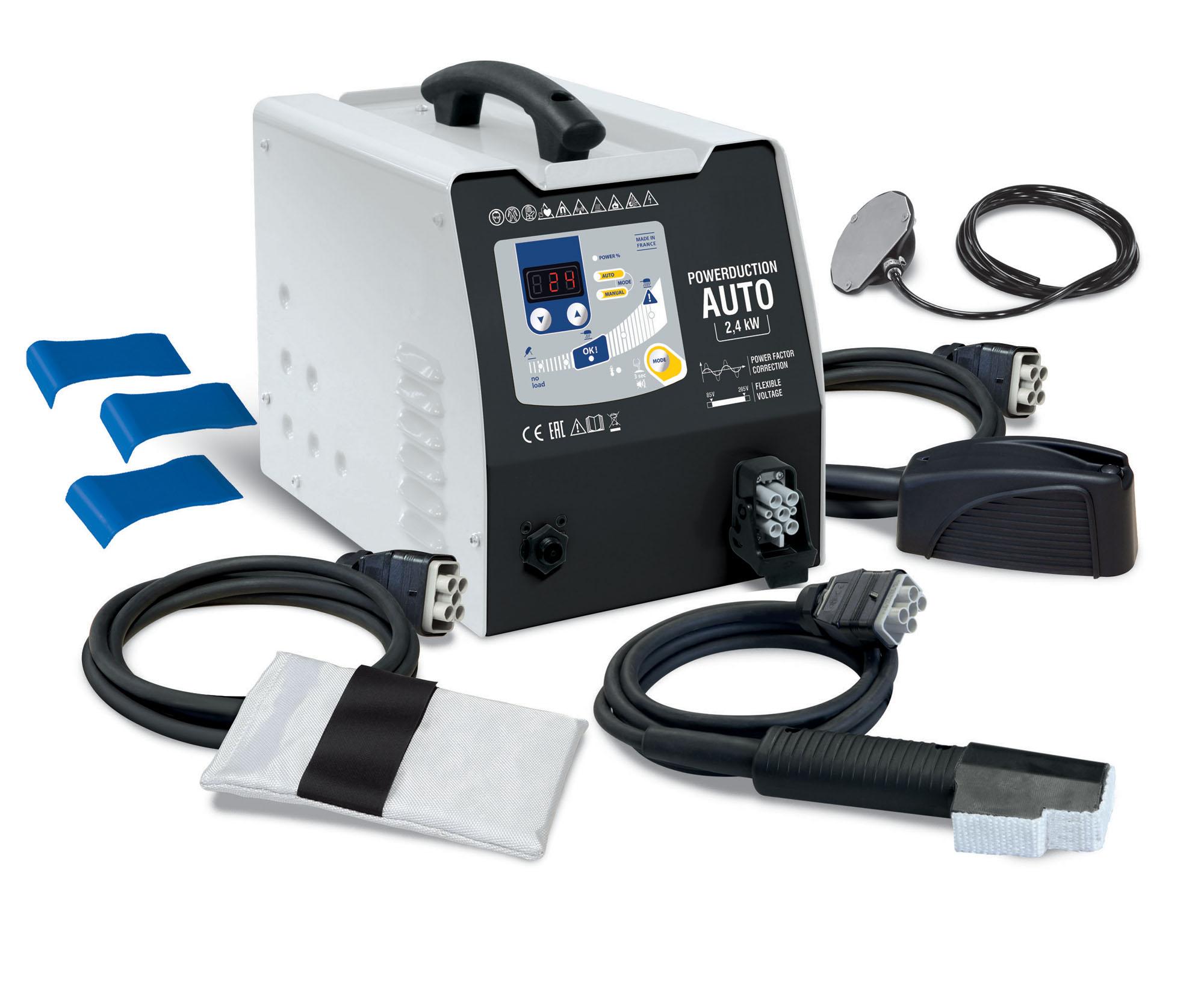 Inductor magnético TSD POWER DUCTION para calentar la chapa de la carrocería