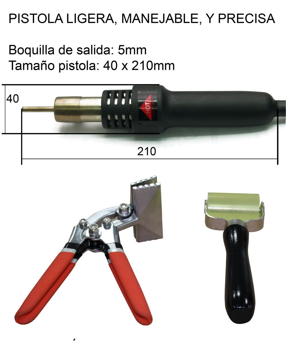 TSD-Tecsolda reparación del plástico soldador TSD pl289
