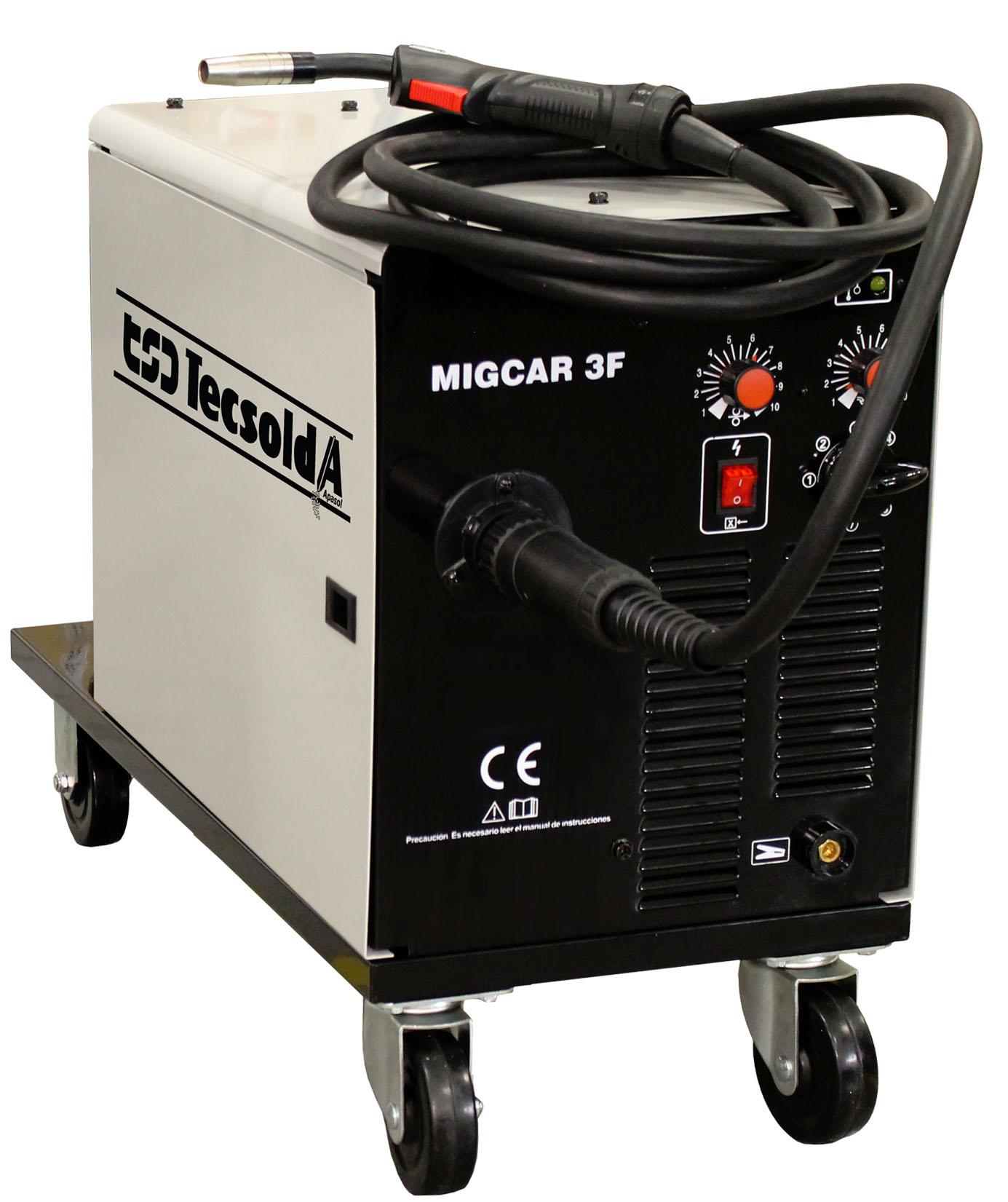 TSD-Tecsolda MIGCAR 3F Equipos para la soldadura MIG