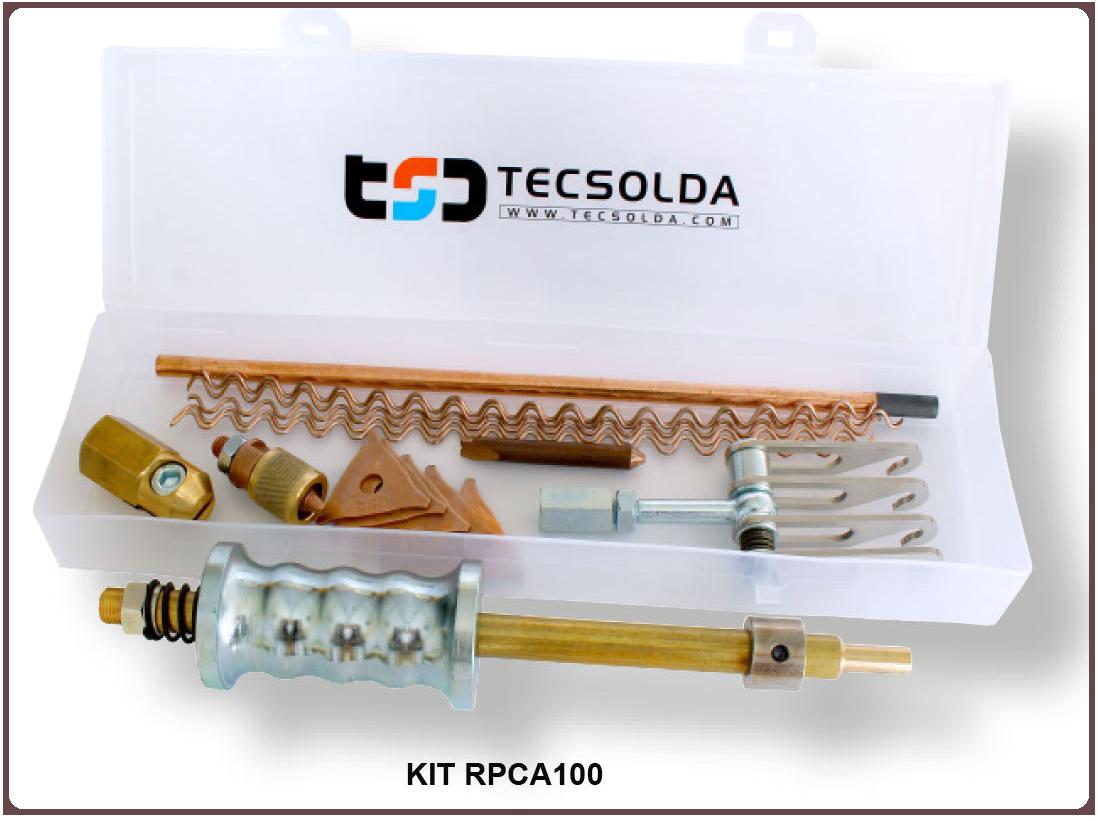 Electrodos kit RPCA100 para soldadora TSD3900 PRO