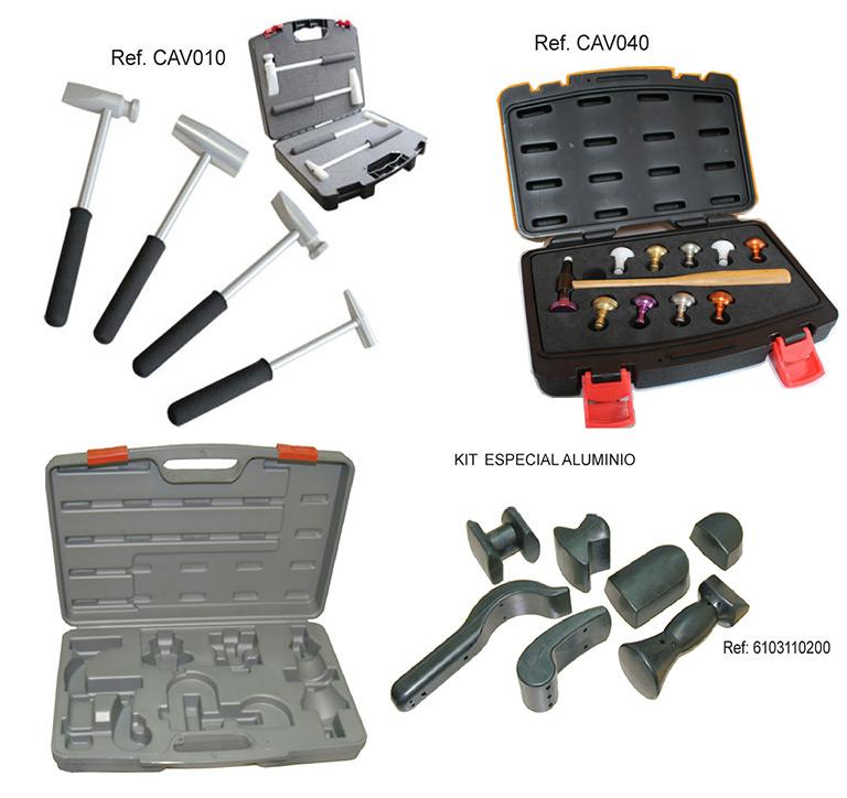 Martillos de percusión y tases para arreglar la carroceríay tAccesorios
