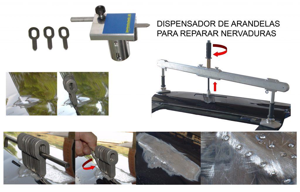 Ejemplo de reparación dentliner