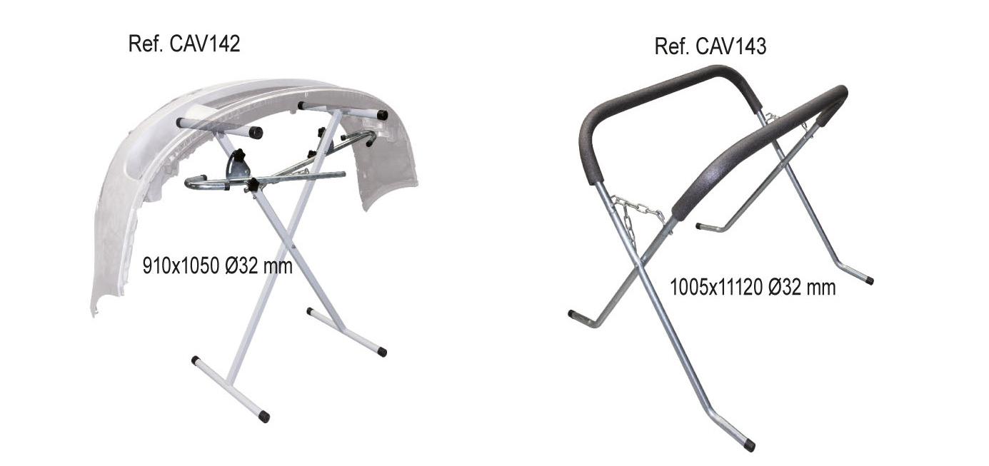 Accesorios TSD-Tecsolda para la reparación y estiramiento de la carrocería