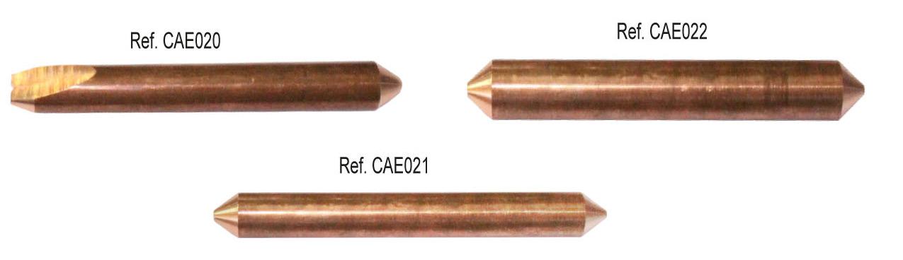 Consumibles electrodos y para el desabollado