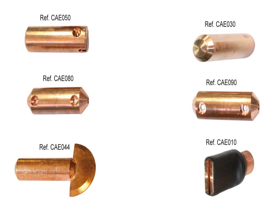 Consumibles electrodos y para el desabollado spotter