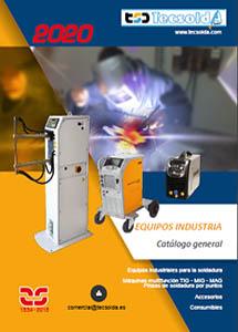 Catalogo TSD-TECSOLDA Equipos de soldadura industrial 2020