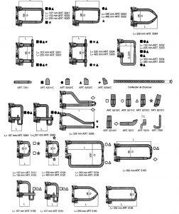 Brazos y electrodos para pinzas de soldadura TECNA distribuidas por TSD-Tecsolda