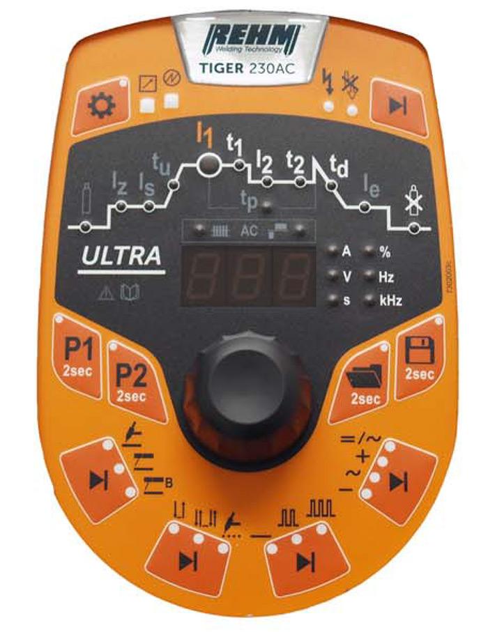 Panel de control Tiger 180DC y 230DC-230