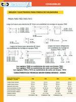 Consumibles electrodos para soldadoras