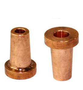 Electrodos adaptadores de cono