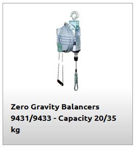 Equilibrador de 345kg modelo 9433
