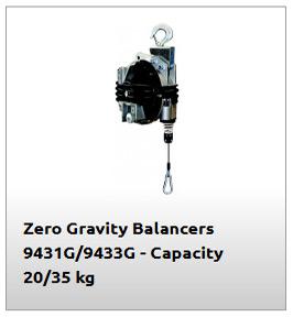Equilibrador de 35kg modelo 9433G