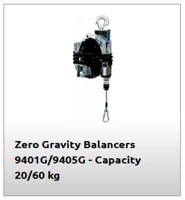 Equilibrador de 60 kg modelo 9401G