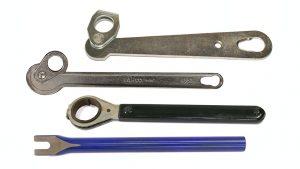Cuñas y llaves extractoras