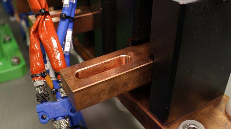 Bloque cobre para soldadora