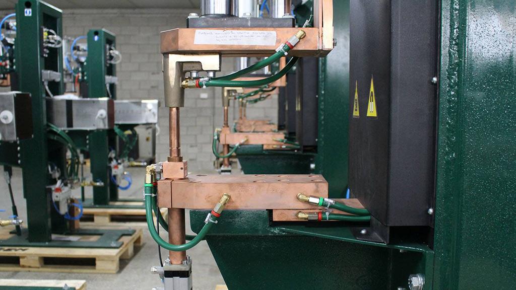 Fabricacion puntatrices con electrodos verticales