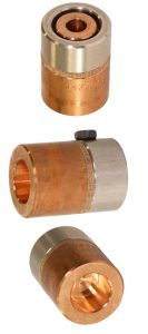 Electrodos especiales para soldadora por resistencia