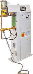 Puntatriz vertical con cilindro de soldadura