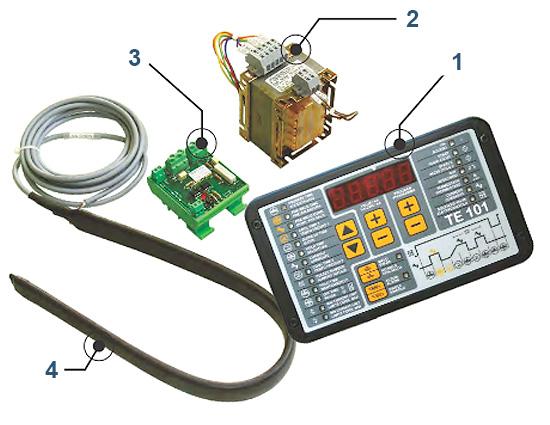 Componentes control te101